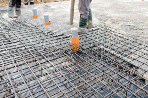 fundamenty płyta beton żelbet budowa